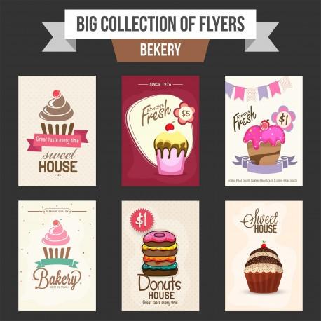 Plantilla: Flyer para negocio de cupcakes