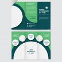 Plantilla: Flyer triptico para negocios - PF00006