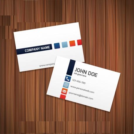 Plantilla: Tarjeta de visita o negocio