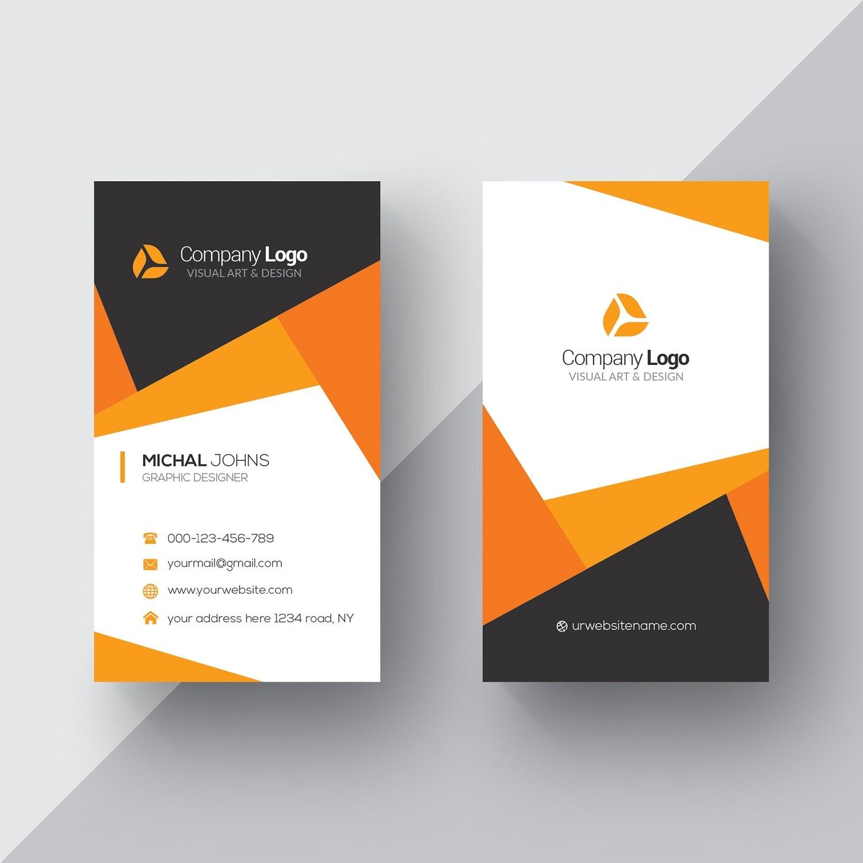 Plantilla: Tarjeta de visita o negocio en general / Tarjetas Personales