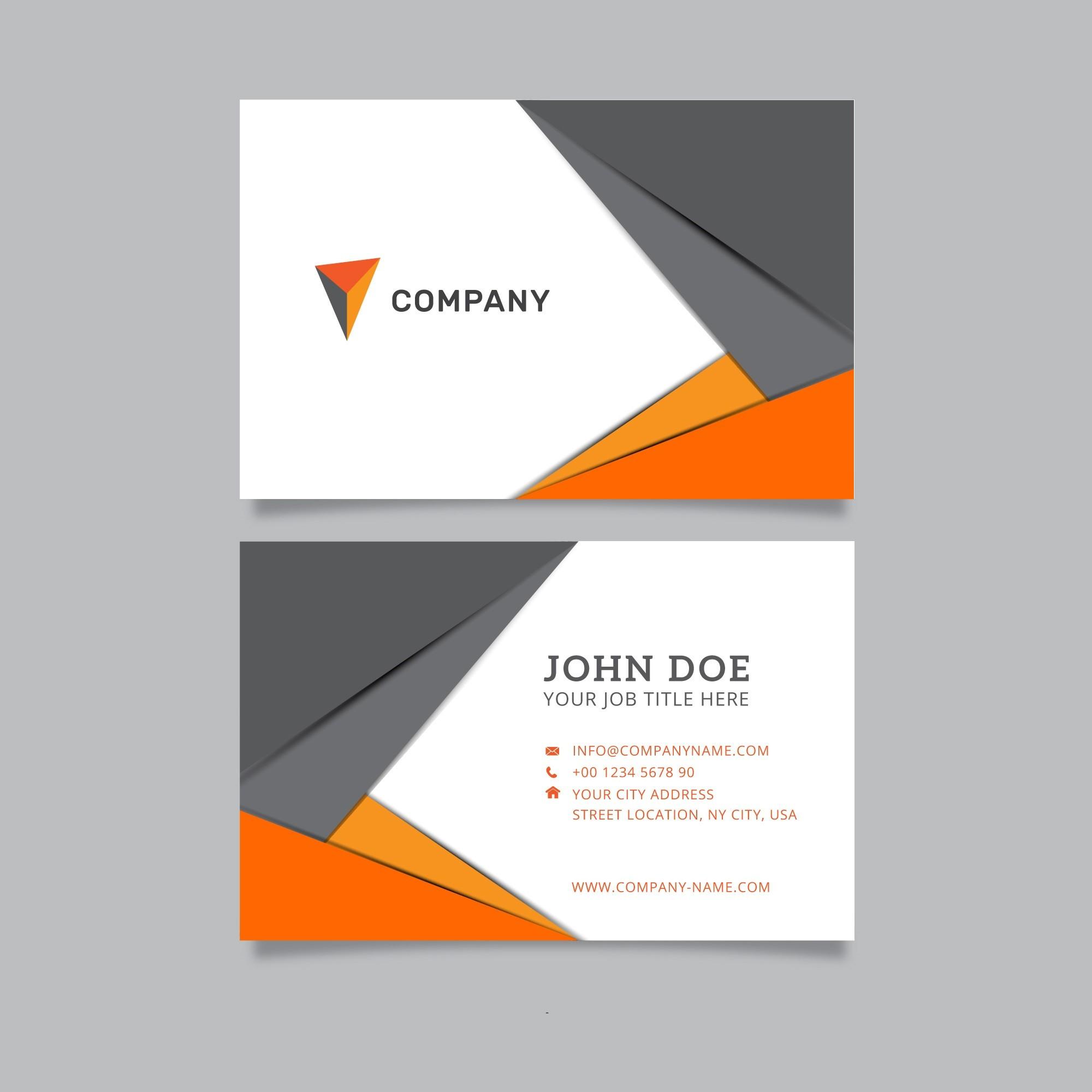 Plantillas de tarjetas personales (2) - Tarjetas Personales Delivery