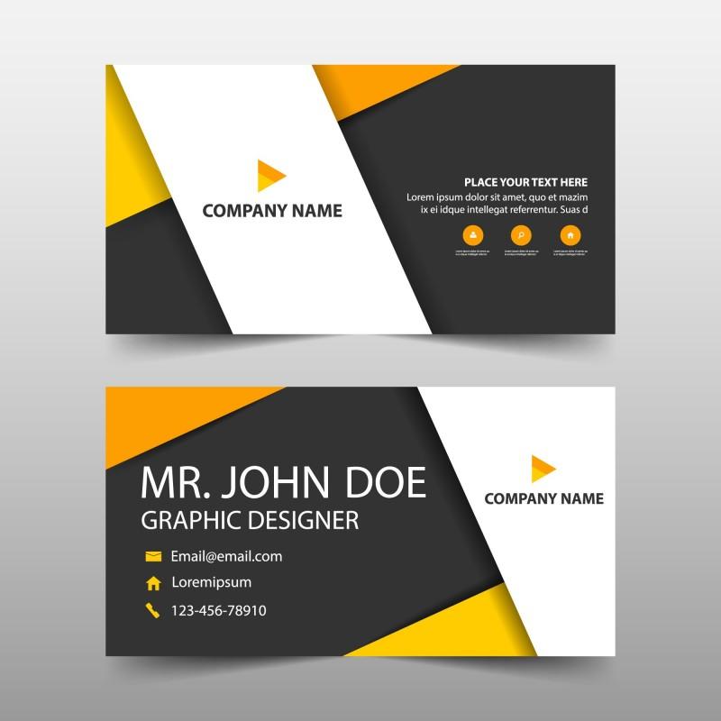 plantilla  tarjeta de visita o negocio