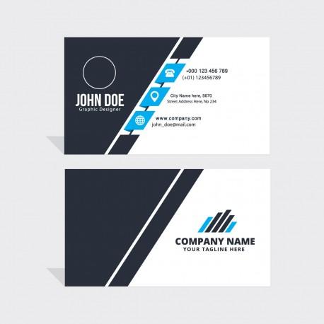 Plantilla de tarjeta de visita o negocio