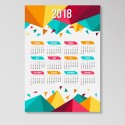 Almanaques de pared 70x50 cm + plastificado brillante + agujero x Millar
