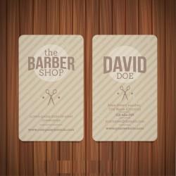 Plantilla: Tarjeta de presentación para barber shop o peluqueria- PT00066