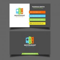 Plantilla: Tarjeta de presentación para cheff o cocina- PT00075