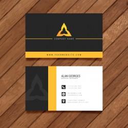 Plantilla de tarjeta de visita o negocio - PT00001