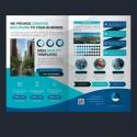 Brochure: Diptico A5 cerrado o  A4 abierto - Papel 350 gr. + Plastificado Mate
