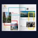 Brochure: Diptico A4 cerrado o A3 abierto - Papel 350 gr. + Plastificado Mate