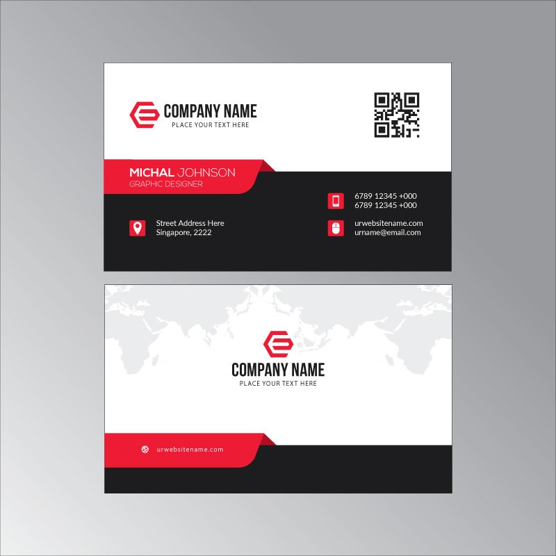plantilla tarjeta de visita o negocio en general tarjetas personales