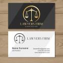 Plantilla: Tarjeta de visita para abogados - PT00094