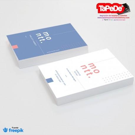 Plantilla: Tarjeta de visita o negocio  - PT00128 minimalista o simple