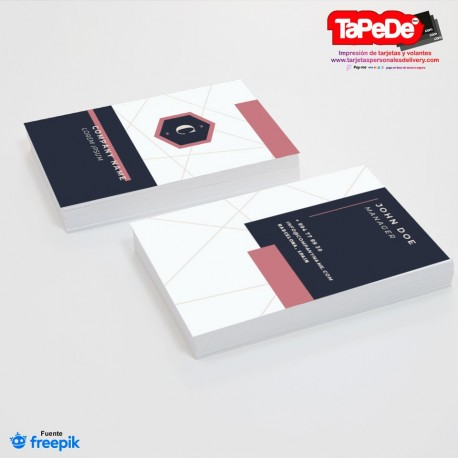 Tarjeta de visita o negocio - PT00118 clasica