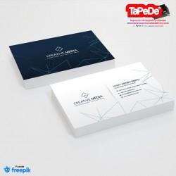 Plantilla: Tarjeta de visita o negocio  - PT00126 minimalista o simple