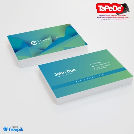 PT00114 abstract-blue-green-gradient-business-card
