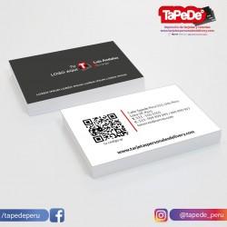 Plantilla: Tarjeta de visita o negocio  - PT00136