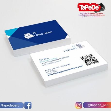 Plantilla: Tarjeta de visita o negocio  - PT00138