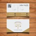 Plantilla: Tarjeta de visita para abogados - PT00014