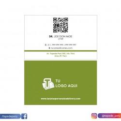 Plantilla: Tarjeta de visita o negocio  - PT00139