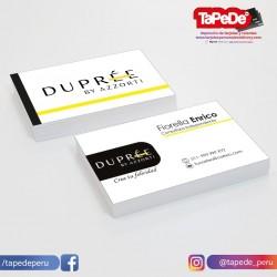 Tarjetas Personales Dupree