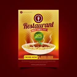 Plantilla: Flyer para oferta de comida - PF00002
