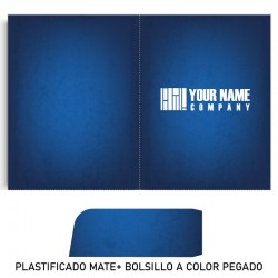 Folder + plastificado mate...