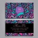 Plantilla: Tarjeta de visita o negocio estilo boho - PT00020