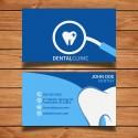 Plantilla: Tarjeta de visita o negocio para medico dentista - PT00023