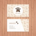 Plantilla: Tarjeta de visita para medico veterinario - PT00025