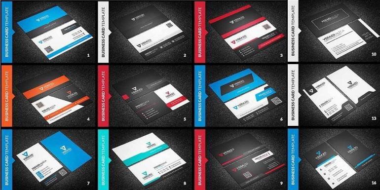 Colección de 150 tarjetas personales o corporativas, diseños y plantillas para tu negocio o profesión - Perú