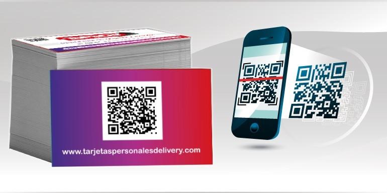 Codigo QR en tarjetas personales / presentación, como usarlo y donde crearlo