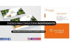 Tarjetas Presentación: Diseños gratis para consultoras independientes de las principales marcas de venta por catálogo